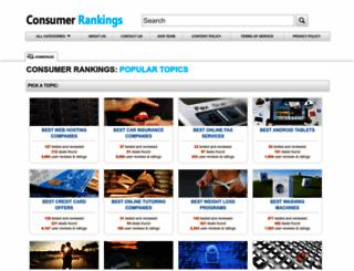 consumer-rankings.org screenshot