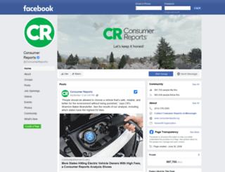 consumer-reports.org screenshot