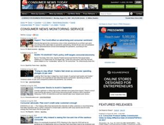 consumer.einnews.com screenshot