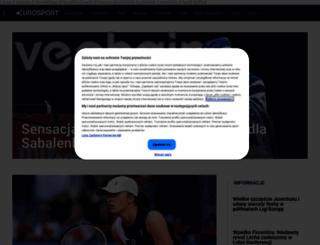 consumer.eurosport.pl screenshot