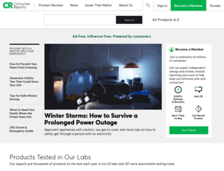 consumer.org screenshot