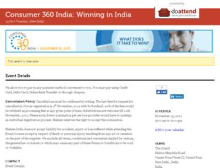 consumer360.doattend.com screenshot