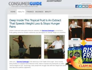 consumerdietguide.com screenshot