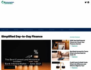 consumerismcommentary.com screenshot