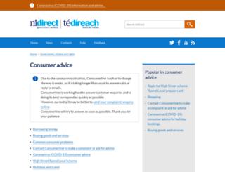 consumerline.org screenshot