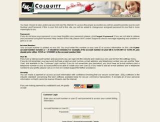 consumerpayments.colquittemc.com screenshot