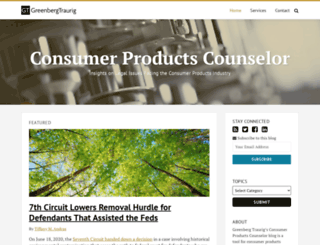 consumerproductscounselor.com screenshot