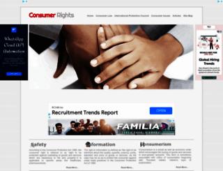 consumerrights.org.in screenshot