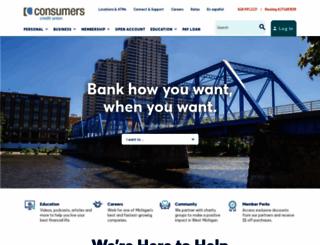 consumerscu.org screenshot