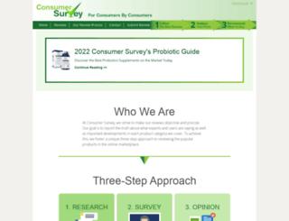 consumerssurvey.org screenshot
