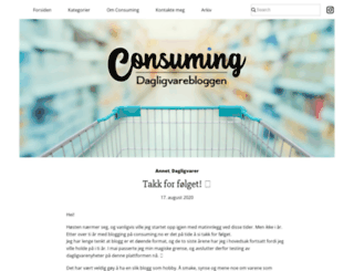 consuming.co screenshot