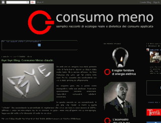 consumomeno.blogspot.com screenshot