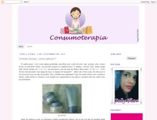 consumoterapia.blogspot.com screenshot