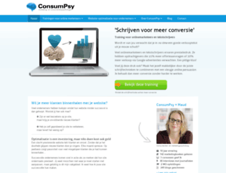 consumpsy.nl screenshot