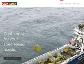 consurfsolutions.com screenshot