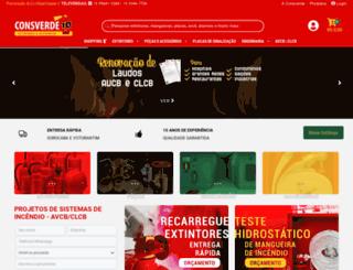 consverde.com.br screenshot