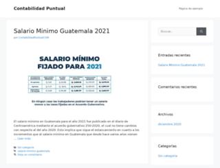 contabilidadpuntual.com screenshot