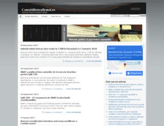 contabilitateafirmei.ro screenshot