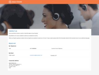 contact.easytobook.com screenshot