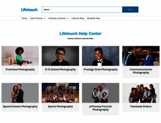 contact.lifetouch.com screenshot