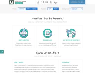 contactform.looks-awesome.com screenshot