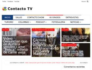 contactotv.com.mx screenshot