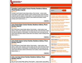 contactphonenumberaddress.com screenshot