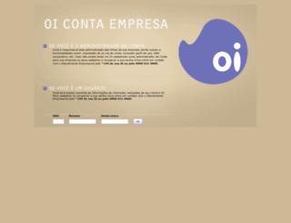 contaempresa.oiloja.com.br screenshot