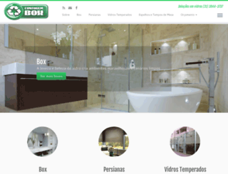 contagembox.com.br screenshot
