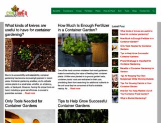 container-gardening-for-food.com screenshot