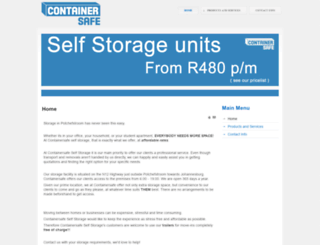 containersafe.co.za screenshot