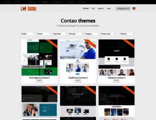 contao-themes.com screenshot