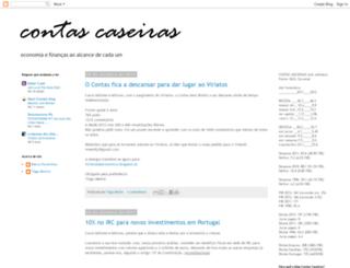 contascaseiras.blogspot.pt screenshot
