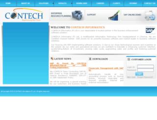 contechinformatics.com screenshot