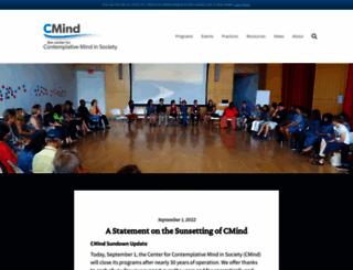 contemplativemind.org screenshot