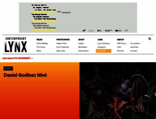 contemporarylynx.co.uk screenshot