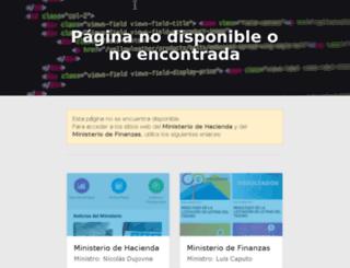 contenidos.mecon.gov.ar screenshot