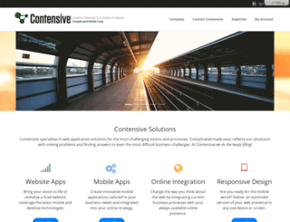 contensive.com screenshot