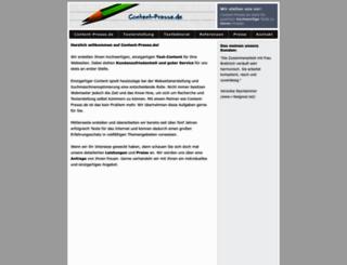 content-presse.de screenshot