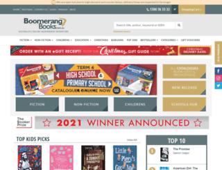 content.boomerangbooks.com.au screenshot