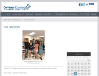 content.cksf.org screenshot