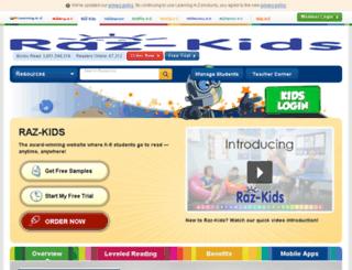 content.raz-kids.com screenshot