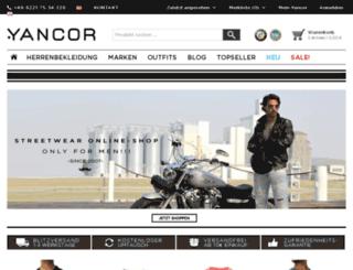 content.yancor.de screenshot