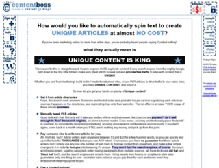 contentboss.com screenshot