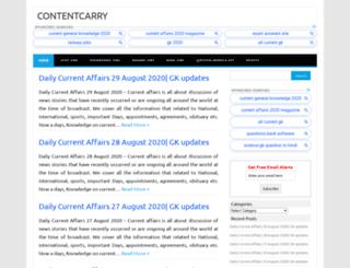contentcarry.com screenshot