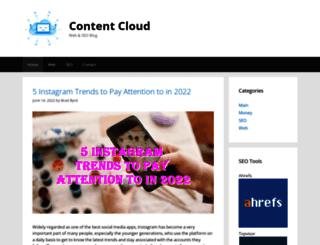 contentcloudhq.com screenshot