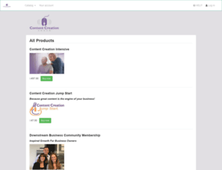 contentcreationcoach.simplero.com screenshot