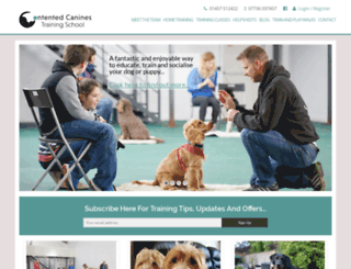 contentedpetcare.co.uk screenshot