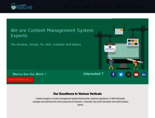 contentmanagementsystem.in screenshot