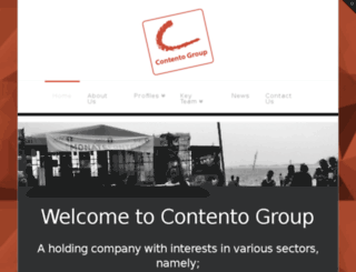 contento.co.za screenshot